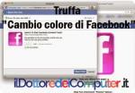 truffe su facebook