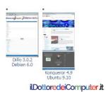 sito Web con più Browser