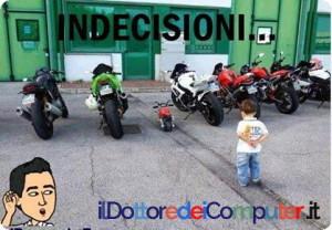 moto e bambini