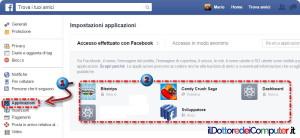 Visita il tuo Profilo Facebook