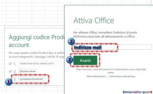 Attivare Office 365 (3)