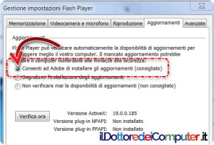 Aggiornamento Flash Player (5)