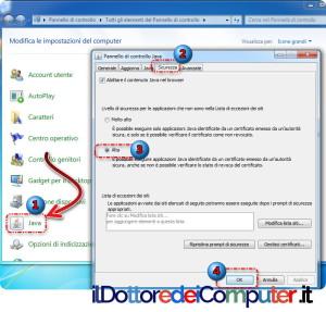 applicazione bloccata dalla sicurezza java (2)