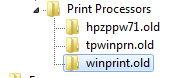 rimuovere la stampante (6)