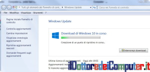 Installazione Windows 10