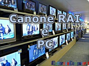canone tv e monitor PC