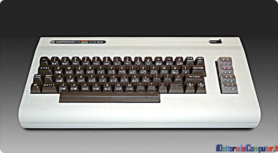Commodore VIC 20 , un tuffo nel passato