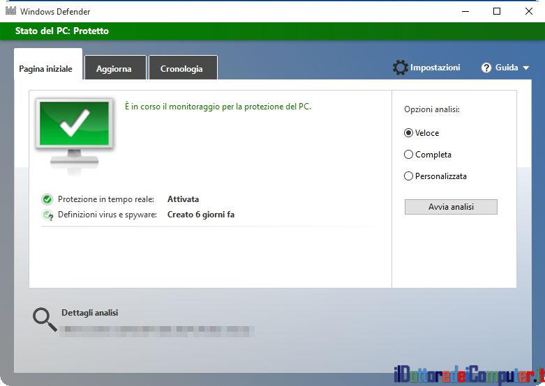 E' Necessario un Software Antivirus in Windows?