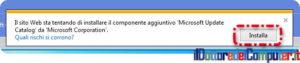 Aggiornamento Windows 7