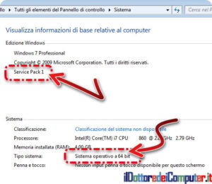 Windows 7 bit e service pack