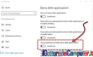 barra-applicazione-impostazione
