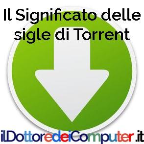 Il Significato delle sigle di Torrent : CAM , TS , FS , WS