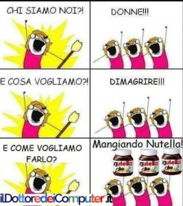 nutella donne