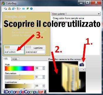 Colore Visualizzato