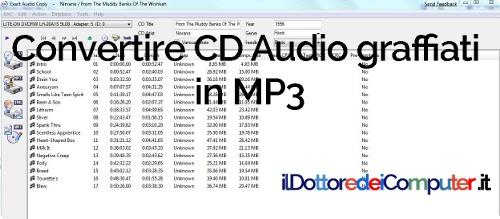 cd audio graffiati