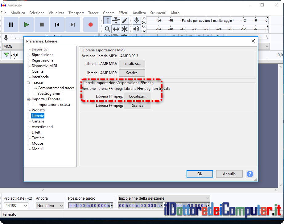 Ffmpeg Audacity Download Windows